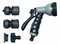 Accessoire d'arrosage et de lavage : Kit pistolet - 5 pièces