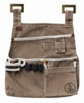Vêtement de travail : Pochette outils brique