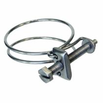 Collier : Double fil - W1 - acier galvanisé