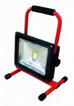 Projecteur : Spot led rechargeable sur base 30 W - IP 44