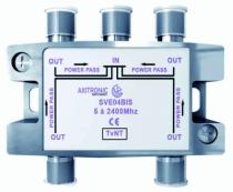 Conduit et canalisation : Répartiteur TV - 4 directions - SVE04BIS
