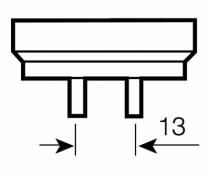 Eclairage : Lumilux T8 - G13