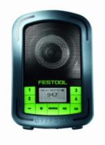 Batterie - chargeur - lampe électro-portatif : Radio chantier SYSROCK BR 10