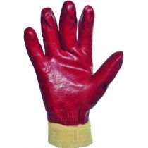 GANT MANUTENTION PVC ROUGE TAILLE 8