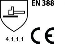 Gants PVC : PVC sur support coton