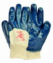 Gants nitrile et néoprène : Gant nitrile Clamp