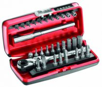 Clé à douille : Composition de 31 outils R.180J31PB