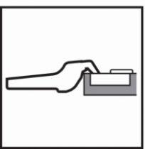 Rotation : Porte applique - ouverture 170°
