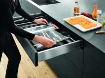 Gamme tiroir LÉGRABOX : Dérouleur double pour film - pour tiroirs hauteurs M et K