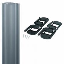 Verrouillage de portail : Bandeau aluminium pour ventouse série MAGMAG