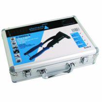 Pince à rivets - sertisseuse : Pince à main + assortiment de rivets multi-serrage en coffret - E-500RH-S