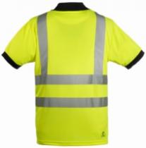 Vêtement de travail : Polo fluo classe II