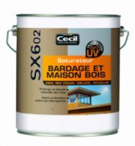 Traitement du bois : Saturateur bardage et maison bois - SX 602
