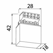Solution domotique : Micromodule volet roulant MVR500E