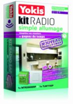 Solution domotique : Kit radio simple allumage KITRADIOSA