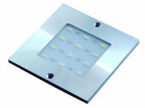 SPOT LED 160 CARRE ALU APPLIQUE 5W