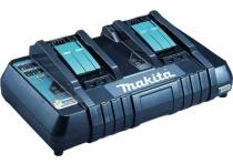 Batterie - chargeur - lampe électro-portatif : Chargeur rapide 2 batteries Makstar Li-Ion