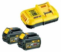 Batterie - chargeur - lampe électro-portatif : Pack FLEXVOLT 54 V Li-lon + chargeur