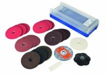 Disque fibre : Assortiment Combiclick® - ø 125 mm