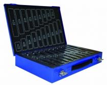 Foret à métaux : Coffret de forets taillés meulés 170 pièces