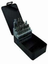 Foret à métaux : Coffret tarauds main + forets + tourne à gauche