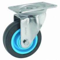 Roulette de manutention : Roue Resilex® grise - Gem-roll
