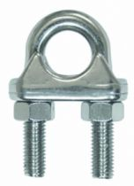 Accessoire pour câble : Serre-câble étrier - inox A4