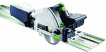 Scie circulaire plongeante sans fil : TSC 55 Li 5,2 REB-Set-FS avec rail