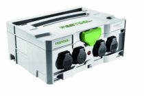 Enrouleur - prolongateur : Multiprises Festool Sys-Powerhub