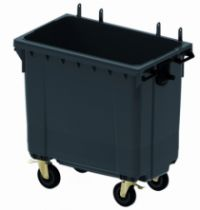 Manutention : Conteneur 4 roues modulables