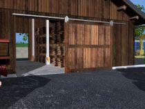 Ferrure de porte coulissante et pliante Mantion : Pour porte jusqu'à 700 kg - porte à déplacement droit sur rail en fer plat