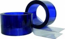 Rideau - toile - tente de soudage : Lanière pvc cristal - protection thermique et phonique