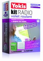 Solution domotique : Kit radio volet roulant KITRADIOVR