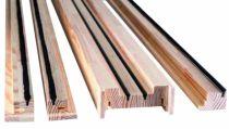 Ferrure de porte coulissante à galandage : Habillage bois porte simple