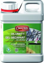 Décapant : Dilunett - gel décapant tout support