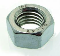 Visserie métrique inox : Inox A2 - DIN 934