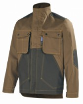 BLOUSON CRAFT WORKER MARRON/NOIR T1