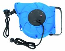 Enrouleur - prolongateur : Câble HO7RN-F 3G1,5 - avec disjoncteur thermique  à rappel automatique