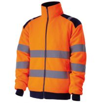 VESTE POLAIRE 330GR ORANGE T. M