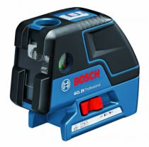 Laser de chantier : Pack laser en croix + point GCL 25
