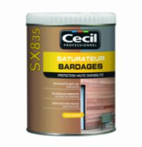 Traitement du bois : Saturateur bardage - SX 835
