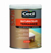 Traitement du bois : Saturateur terrasse - SX 725