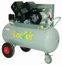 Compresseur d'air : Twinair - 100 litres - 17 m³/h
