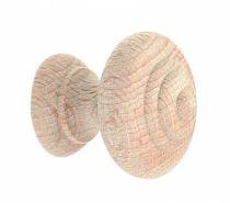 Garniture classique : Convexe - hêtre brut poncé