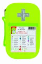 Trousse de secours 2/4 personnes - Multi-risques et véhicule