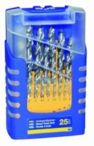 Foret à bois : Coffret de 25 forets à bois HSS - double listel