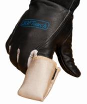 Protection soudeur : Doigt Tig fibre de silice