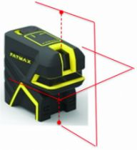 Laser de chantier : Mini laser croix + 2 points SCP2