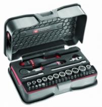 Clé à douille : Composition de 37 outils - R.161-6M6