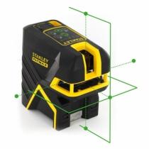 Laser de chantier : Mini laser croix + 5 points SCP5 - vert